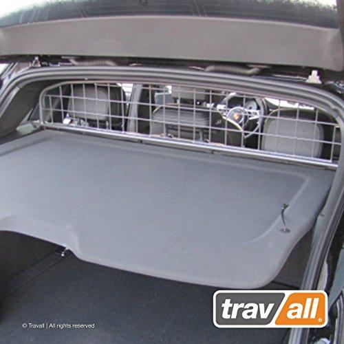 Travall Guard Hundegitter Kompatibel Mit Porsche Macan (Ab 2014) TDG1463 - Maßgeschneidertes Trenngitter in Original Qualität