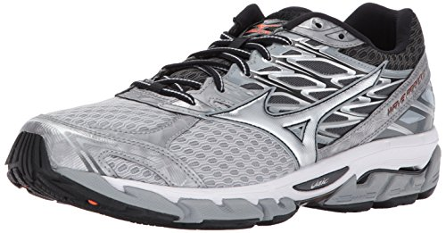Mizuno Men's Wave Paradox 4 Running Shoes, Eclipse/Silver, 10 D US