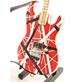 Eddie Van Halen miniature guitar replica