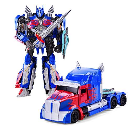 JINGYD Robot deformado de automóvil, Modelo de automóvil de Rambo de deformación Manual, Juguetes para niños