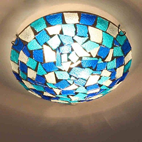 Rural American Pastoral Mittelmeer Mosaik Deckenleuchte Art Lampe Bar Restaurant Küche Badezimmerarmaturen