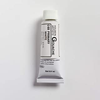 Holbein Artists Gouache 15ml Primary White