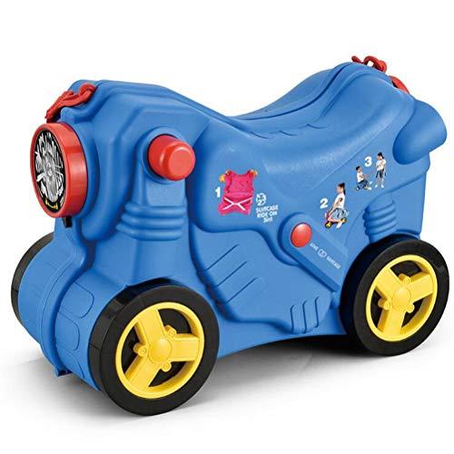 OYHN Maleta para niños Viaje Infantil para niños Maleta correpasillos y Equipaje de Mano Infantil Equipaje Infantil,Azul