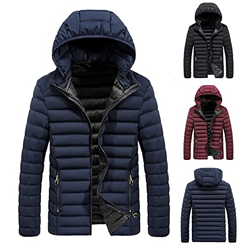 Doudoune Homme Veste Sweaters,Mode Manteau Sweatshirts Pull Sweat Pullover, Manche Longue Hooded Trench Coat Outwear Hiver Top Hauts Chaud Blouse
