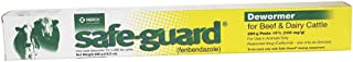 Merck Animal Health Safe Guard Beef Dairy Cattle Dewormer Paste 290gm