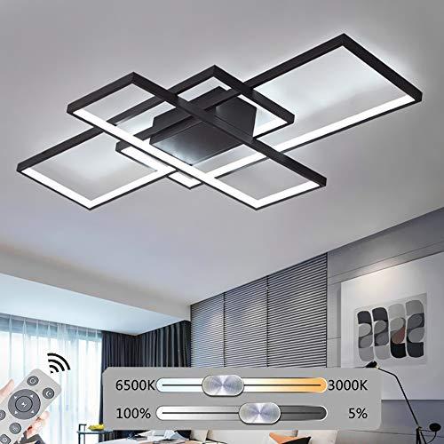 Hil aluminium zwarte plafondlamp, led, individueel, modern, acryl, sfeer, creatief, minimalistisch, verlichtingsniveau van het leven, elektrodeless plafond in de badkamer