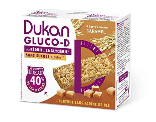 Dukan Barre Gluco-D Saveur Caramel 120 g