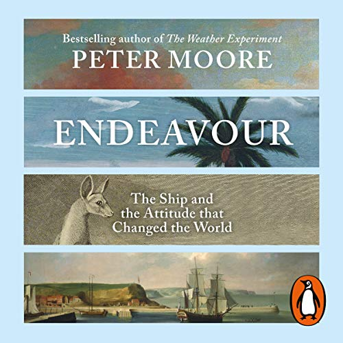 Endeavour                   By:                                                                                                                                 Peter Moore                               Narrated by:                                                                                                                                 Ric Jerrom                      Length: 19 hrs and 37 mins     14 ratings     Overall 4.4