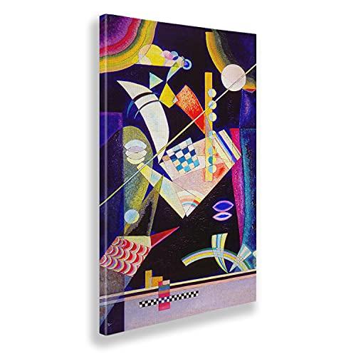Giallobus - Pinturas - Vassily Kandinsky - Dureza aguda - Lienzo - 60x100 - Listo para Colgar - Cuadros Modernos para el hogar
