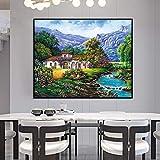 Pintura sin Marco Digital Abstracto alas Chica Pared Arte Sala Lienzo de Regalo para la decoración del hogarZGQ362 30X35cm