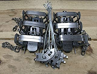 (12 Pack) Bridger No. 3 Coil Spring Square Jaw 6.5