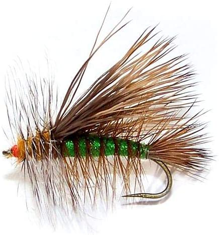 Fly Fishing Flies 10 pack STIMULATOR Trout Fly UK Size 8-12 Varied colours #27