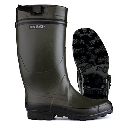 Nokian Footwear - Gummistiefel -Finnwald- (Outdoor) Olivo Nuovo, Größe 40 [441-35-40]