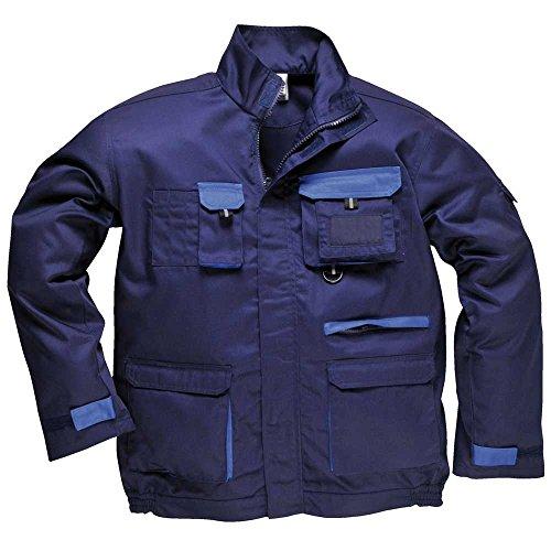 Portwest Veste de travail pour homme - Bleu - Bleu marine - L