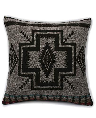 Ruth&Boaz Inka Pattern Square Decor Pillow Case Cushion Cover (P-A, 18\'x18\')