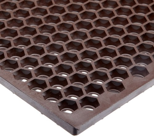NoTrax Optimat Honeycomb Design Drainage Mat, 2' X 3' Brown (T15S0032BR)