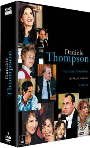 Coffret Danièle Thompson : La Bûche + Fauteuils dorchestre + Décalage horaire
