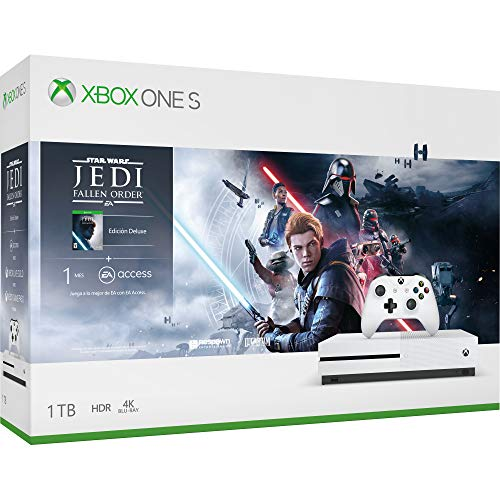 Consola Xbox One S 1TB + Juego Star Wars Jedi: Fallen Order – Bundle Edition