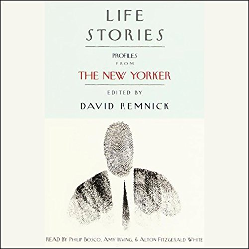 Life Stories audiobook cover art