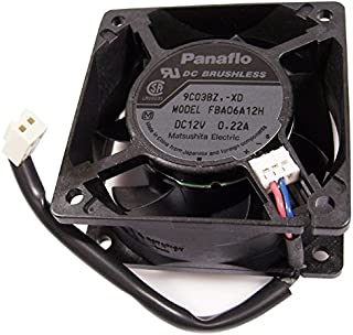 Panaflo 60x25mm 2-Wire 2-pin 12v 022a Fan FBA06A12H-XD