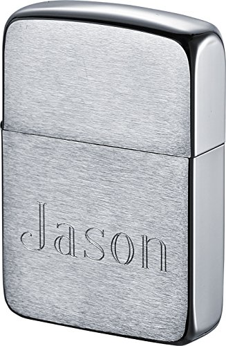 Zippo Personalized 1941 Style Lighter with Engraving - Brushed Finish