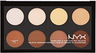 Paleta de iluminadores y Contour, Nyx Professional Makeup, 21.6g
