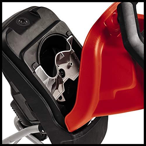 Einhell Electric Shredder GC-KS 2540 (2 Reversible Blades Made of Special Steel, Large Funnel Opening, Motor Circuit Breaker, Shredder Debris Bag, Transport Handle, Prodder)