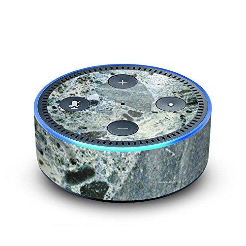DeinDesign Amazon Echo Dot 2.Generation Folie Skin Sticker aus Vinyl-Folie Granit Marble Look Marmor Look
