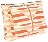 Orla Kiely Laminated Stripy Stem Print 2, Sunset