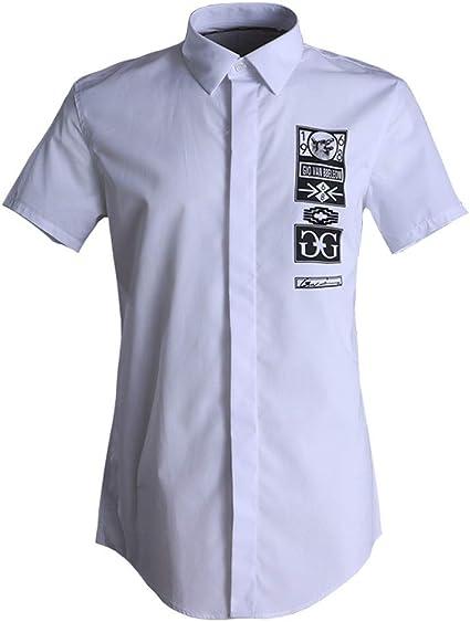 Camisa Hawaiana de Manga Corta Camisa casual para hombre de ...