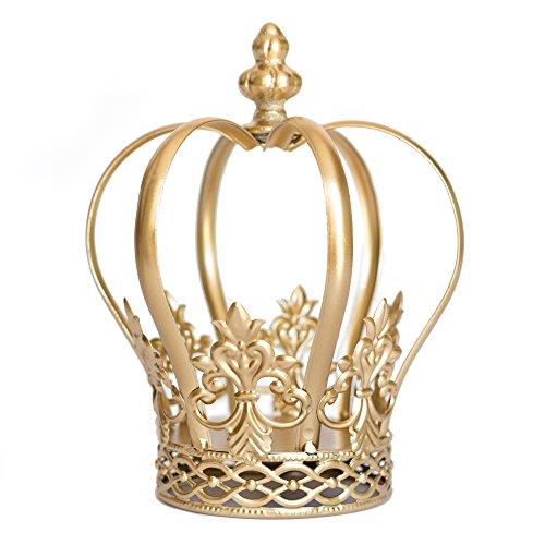 Gold Crown Cake Topper, Crown Centerpiece, Gold Wedding Cake Topper, Princess Cake, Harper