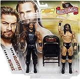 Roman Reigns & Drew McIntyre - WWE Wrestlemania 36 Battle Packs Mattel Toy Wrestling Action Figure 2-Pack
