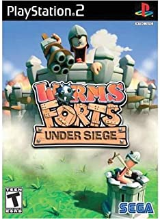 Worms Forts Under Siege - PlayStation 2