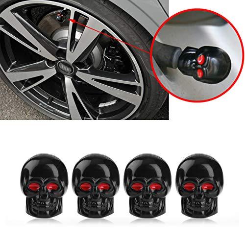 Xotic Tech Tire Stem Valve Caps Wheel Valve Covers Car Dustproof Tires Cap...