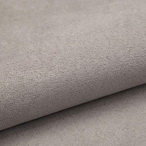 Teker Alcala Antara Polsterstoff Möbelstoff Meterware - z.B. Stoff für Stühle oder Eckbank Bezug- Hellgrau