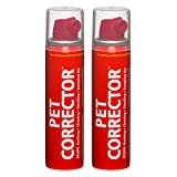 Pet Corrector Spray for Dogs, Dog Training Spray to Stop Barking and Unwanted Behaviors, Pet Deterrent and Training Spray, 50 ml, 2 pack