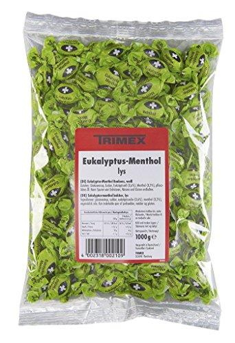 Trimex - Eukalyptus-Menthol-Bonbons weiß - 1000g
