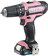 Makita HP331DSAP1 drill Rosa 1700 RPM 1,3 kg - Taladro eléctrico (1700 RPM, 1 cm, 2,1 cm, 30 Nm, 14 Nm, 6750 ppm)