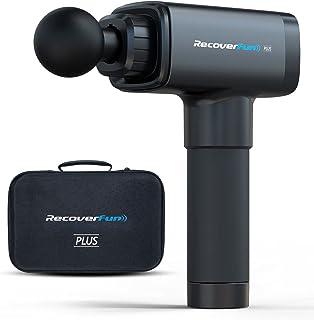 Recoverfun Plus Massage Gun,13mm Deeper Tissue Percussion Stroke Length Muscle Massager Configured a 100-Watt Brushless Hi...