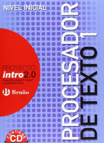 Intro 2.0 Procesador de texto 1 (Castellano - Material Complementario - Intro 2.0) - 9788421660300