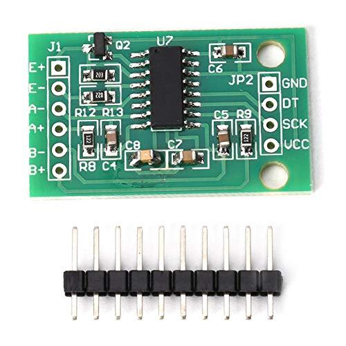 Cyrank Sensor de pesaje HX711 de 5 Piezas, módulo publicitario de Sensor de presión de precisión de Doble Canal y 24 bits