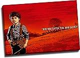 ARYAGO Red Dead Redemption 2 impresiones en lienzo de 91,4 x 60,9 cm enmarcado para pared de videojuegos, póster de Jack Marston para dormitorio de niños y niñas, estirado y listo para colgar