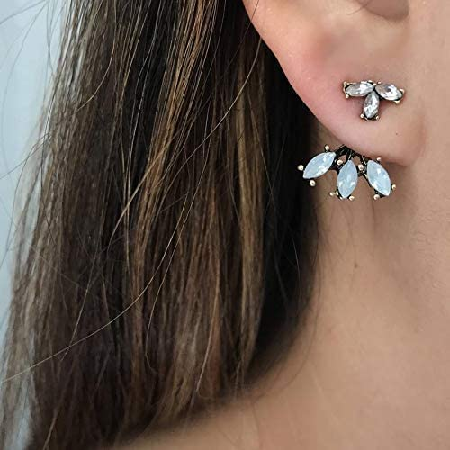 Max 44% OFF Gold Ear Jackets OFFicial site + Opal Earrings- Dainty J Jacket Simple