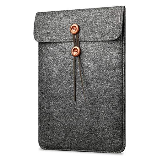 AIUIN laptoptas tablettas voor IPad Pro/MacBook Air beschermhoes van vilt