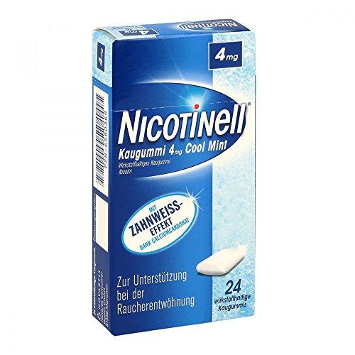 NICOTINELL Kaugummi Cool Mint 4 mg 24 St Kaugummi