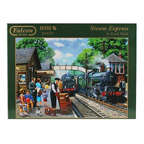 JUMBO- Express Vapeur Puzzle 1000 Pièces, 611027