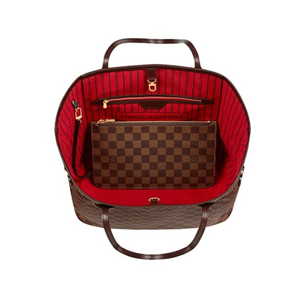 Fashion Shopping Louis Vuitton Neverfull MM Damier Ebene Bags Handbags Purse N41358
