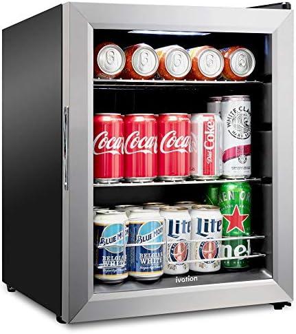 Top 10 Best mini fridge with glass door Reviews
