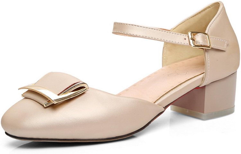 AdeeSu Womens Non-Marking Mini-Size Cold Lining Urethane Sandals SLC03818