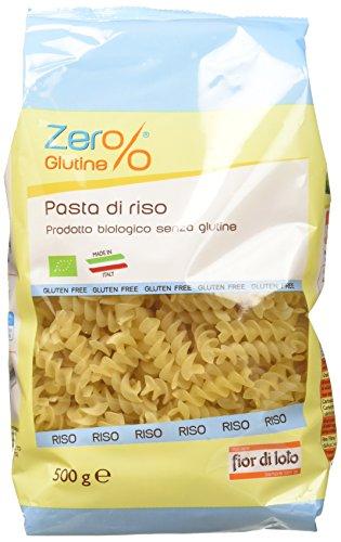 Zer% Glutine Fusilli di Riso - 500 gr - [confezione da 4]